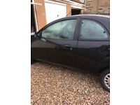 Ford KA 2002. None starter. Selling for parts/scrap or for anyone who wants to fix it.