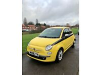 Fiat 500 diesel TDI full Mot beautiful car yelow and black