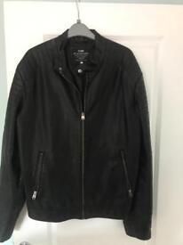 Jack&jones leather jacket