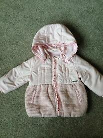 Mayoral girls jacket, age 9 months