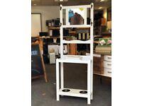 Hall Storage Unit with mirror 175x61x25 cm