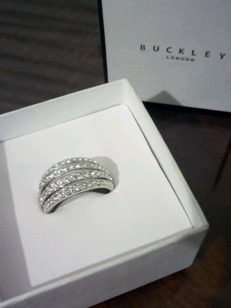 Silver ring size L