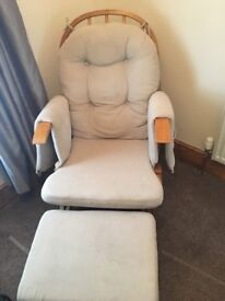 Nursery Gliding chair used but in good condition