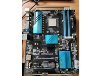 AMD FX-9370, Asrock 990FX Extreme 6 Processor Socket AM3+, CoolerMaster EVO 212, 2GB DDR3
