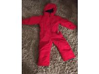 Ski suit size 3-4 years