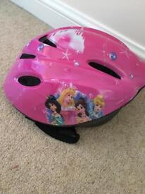 Disney princess cycle bike helmet