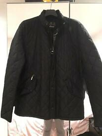 Black Barbour Quilted Jacket