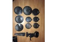 Full alesis dm10 electric drum kit
