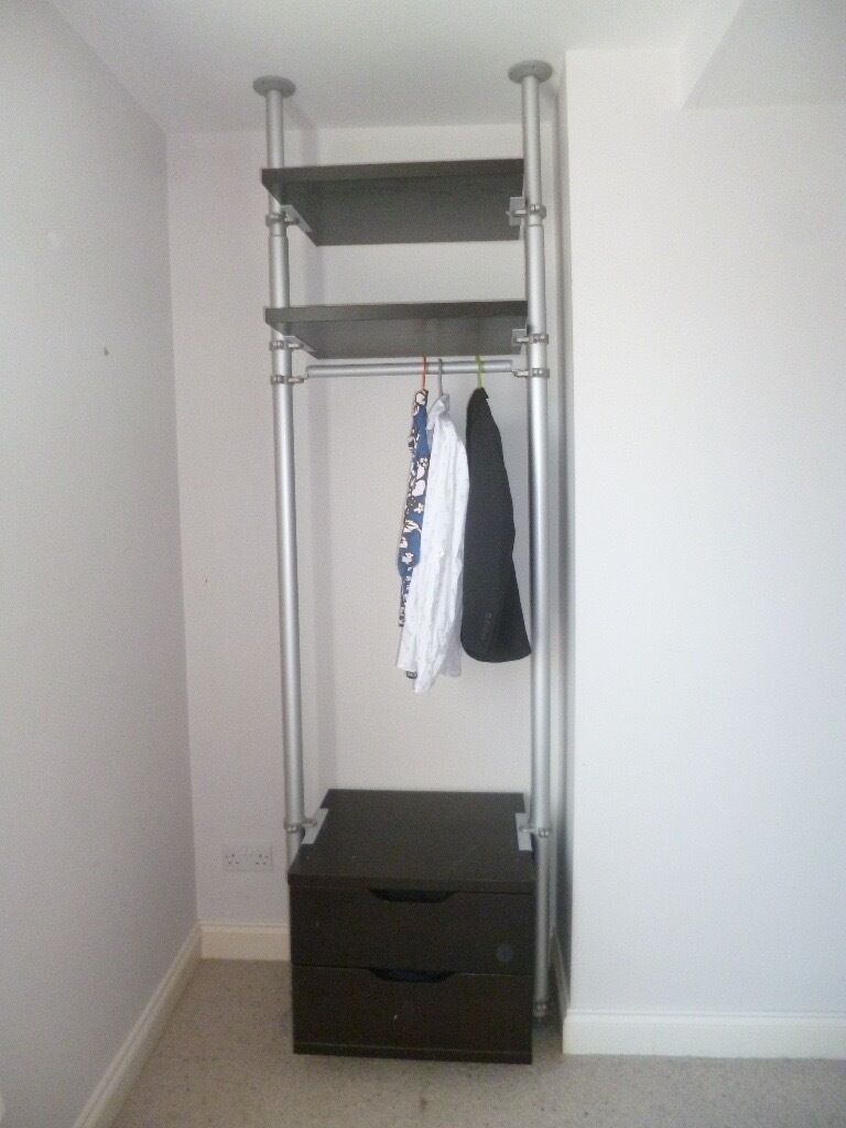 ikea stolmen clothes storage system 20 reduced for quick. Black Bedroom Furniture Sets. Home Design Ideas