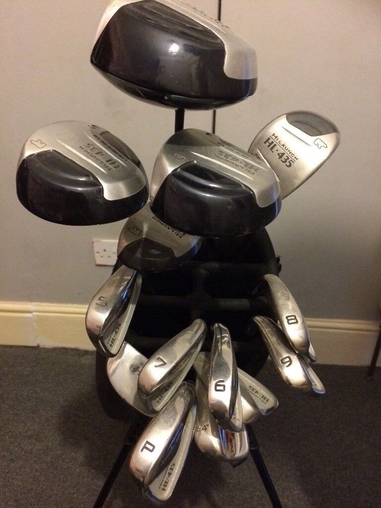 Hi launch Golden bear 14 Golf club set with bag and clubs