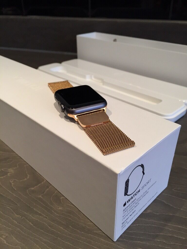 Apple Watch 42mm Series 1 Space Greyin Costessey, NorfolkGumtree - Apple Watch 42mm Space Grey series 1 is in excellent condition almost brand new. Never really worn hence reason to sell. Comes with Apple Watch Box original condition Apple charger and lead Rose Gold metal magnet strap Silver metal strap magnet strap...
