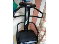 Power Tech body shaper vibration plate in good condition, with instructions. Good condition, Hove