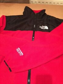 NORTHFACE coat and Fleece.