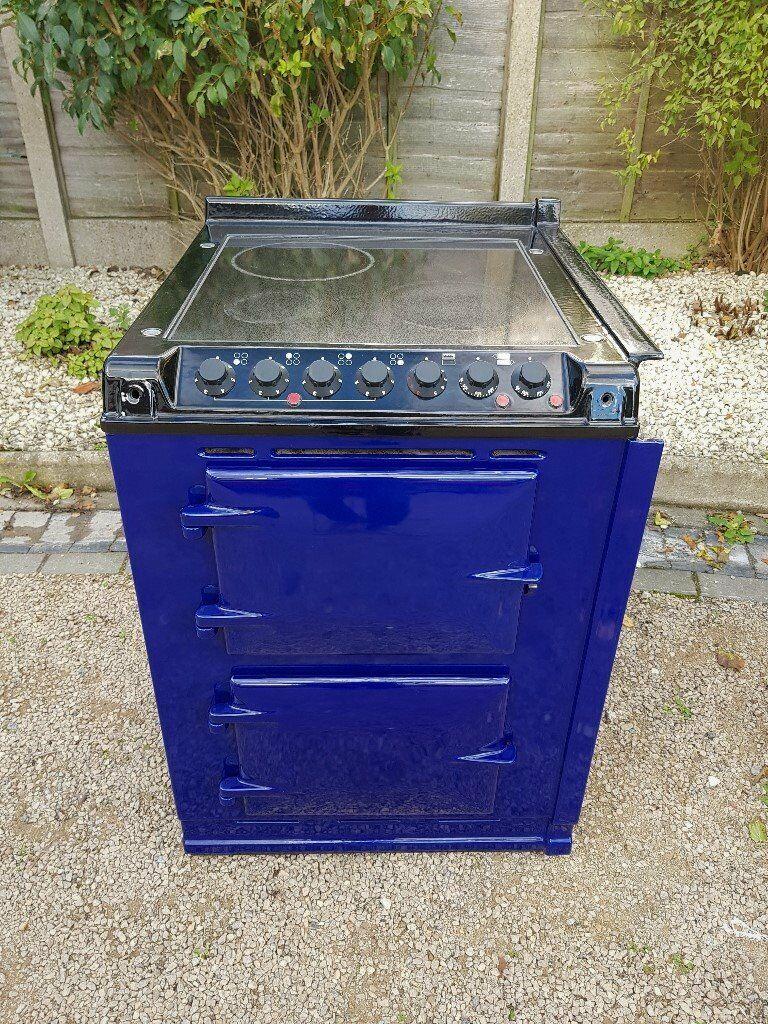 Very Rare Aga Integrated Module Companion In Blue Electric Hob Collection Ovens Single Lamona Conventional Oven And