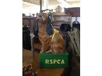 Vintage Dog collection box