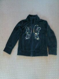 4-5 year old girls Next butterfly zip jacket in immacualte condition