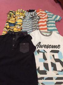 3-4yrs t shirts x 7