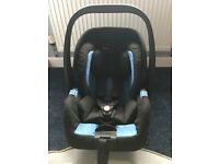 Recaro Privia Baby Car Seat with ISO Fix base
