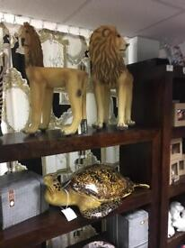 Lion chairs COLLECTION ONLY