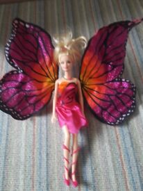 Barbie Mariposa Butterfly Fairy Doll with Wings