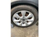 Bmw Mini 16 inch alloy wheels and tyres