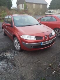 2006 megane 1.9dci. Low miles!! Drives a1! 1st see will buy!!