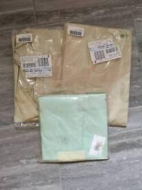 Bolster pillow cases x 3