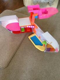 Polly pocket ship cost £50 - now £15 bargain !