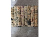 Swallows and Amazons set of 8 books by Arthur Ransome