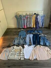 Girls clothing bundle aged 5-6