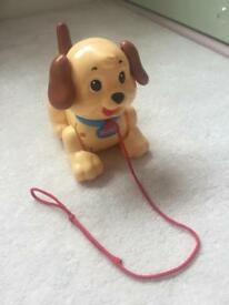Fisher Price Pull Along Dog