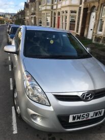 Hyundai i20 comfort 3dr 1.2, 2010, fab condition