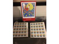 Royal Mail employees christmas special 50 first class stamps, rare
