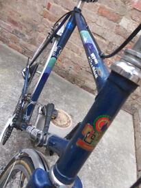 """Vintage Claud Butler Mistral gents racing bicycle 10 speed 22"""" bike frame"""