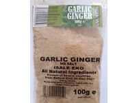 Salt Free Garlic + Ginger Blend Gino Latino Spices