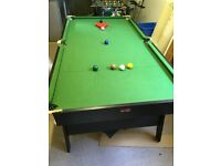 Sooker/Pool table 6 foot excellent condition £80