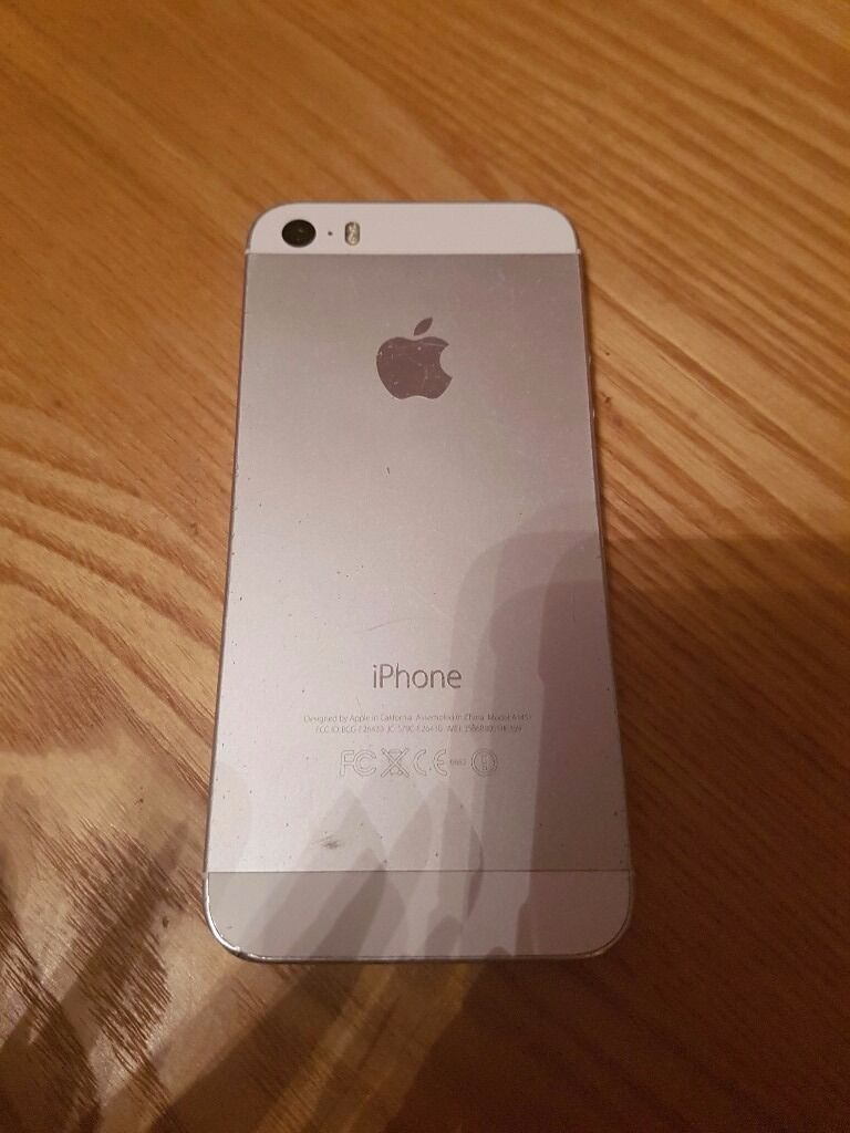 iphone 5s silver iphone 5s silver in hengoed caerphilly gumtree 1438