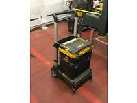 Dewalt t stak trolley with box and drill box