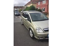 Vauxhall meriva forsale 40000 miles on the clock!!
