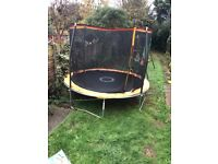Sportspower 10ft Trampoline With Folding Enclosure + Accessory Pack weather cover protection Cover