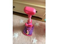 Minnie Mouse Toy Hoover. Excellent condition.