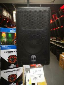 YAMAHA DXR8 8IN 1100W 2-WAY ACTIVE LOUDSPEAKER *DEMO