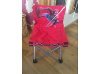 Small child Spider-Man camping seat