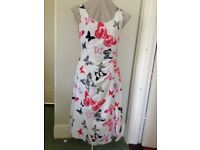 Pretty Laura Ashley Butterfly dress - worn once size 10