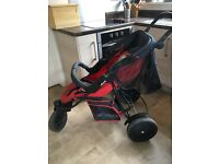 Hauck Freerider double buggy for sale