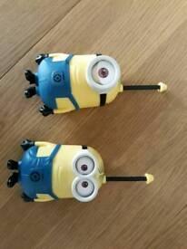 Minion walkie talkies