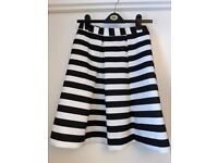 Brand new lipsy top and skirt size 10