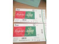 England v Ireland cricket ODI Sun 7th May - 2 tickets