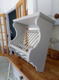 Kitchen/ Dining Plate Rack- wall mounted