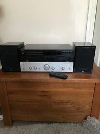 Cambridge Audio Amp, Denon CD player + Acoustic energy Speakers